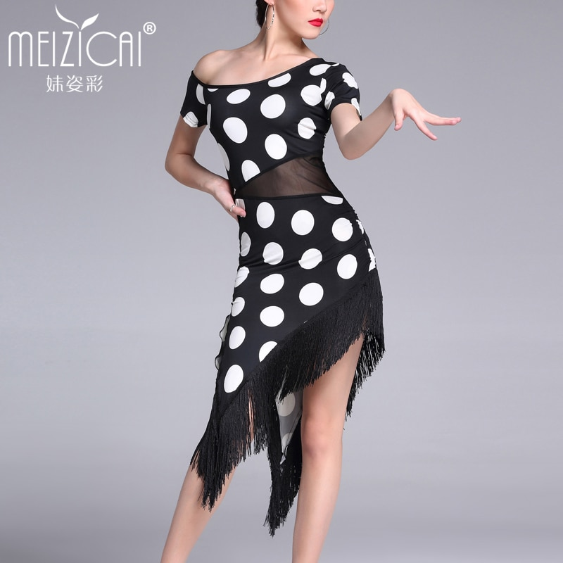 Nuevo Trajes de baile latino vestido de baile moderno para mujeres tango salsa rumba ropa de baile latino M, L, XL