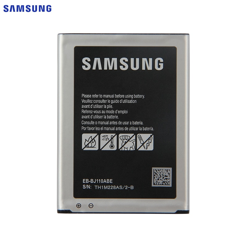 Original SAMSUNG Bateria de Substituição Samsung Galaxy J1 EB-BJ110ABE 3G Versão J Ace J110 SM-J110F J110H J11 Bateria 1900mAh