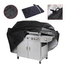 Housse noire de Barbecue pour Barbecue   3 tailles, étanche, protection contre la poussière, pare-poussière pour charbon de bois à gaz