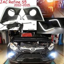 LED,2012 ~ 2016 JAC S5 luz de día, JAC Luz de niebla, JAC faro; J5 J6 J3, S3,S5,Refine,JAC luz trasera, S5