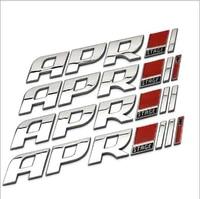 wholesale 10 pcs apr oem 3d jdm stage iii car truck badge metal emblem logo sticker for vw golf car styling car styling