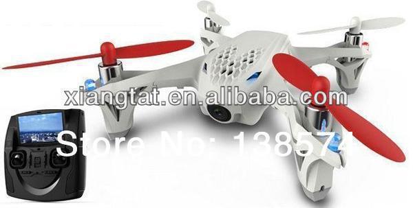 Hubsan X4 H107D FPV RC Quadcopter EN DIRECTO LCD transmisor drone FPV vídeo en directo y Streaming de Audio grabación modo Normal a experto