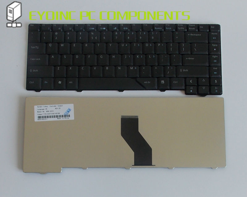 Original nos teclado del ordenador portátil para Acer Aspire 5730 5730Z 5715...