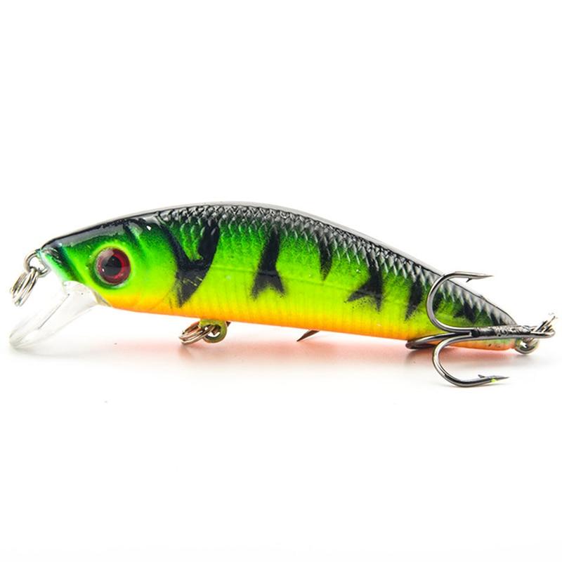 1Pcs Minnow Lifelike Fishing Lure 7CM 8.5G 6# Hooks Fish Wobbler Tackle Crankbait Artificial Japan Hard Bait Swimbait
