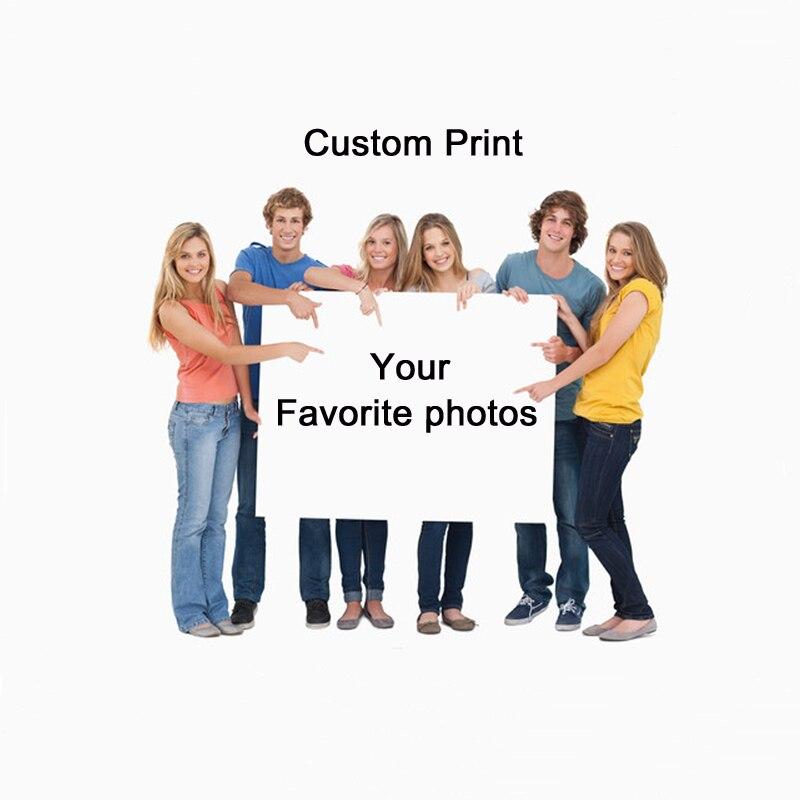 Pósteres impresos de fotos de impresiones personalizadas sobre lienzo impermeable, cuadros de arte para pared, pintura decorativa para regalos de decoración del hogar