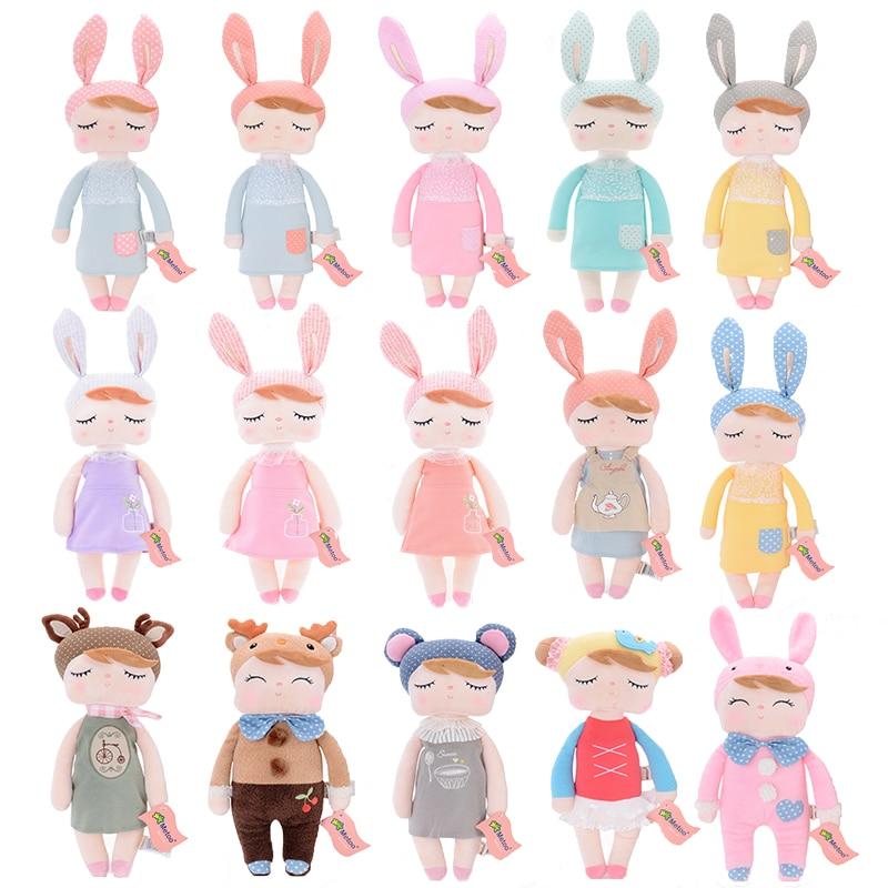 Оригинальная бумажная сумка Metoo angela rabbit, оригинальная кукольная одежда в новом стиле, плюшевая юбка для детей в подарок, 2019