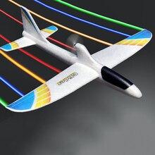 RC avions USB charge électrique main lancer planeur bricolage avion modèle lancement à la main lancer planeur jouet pour enfants 2