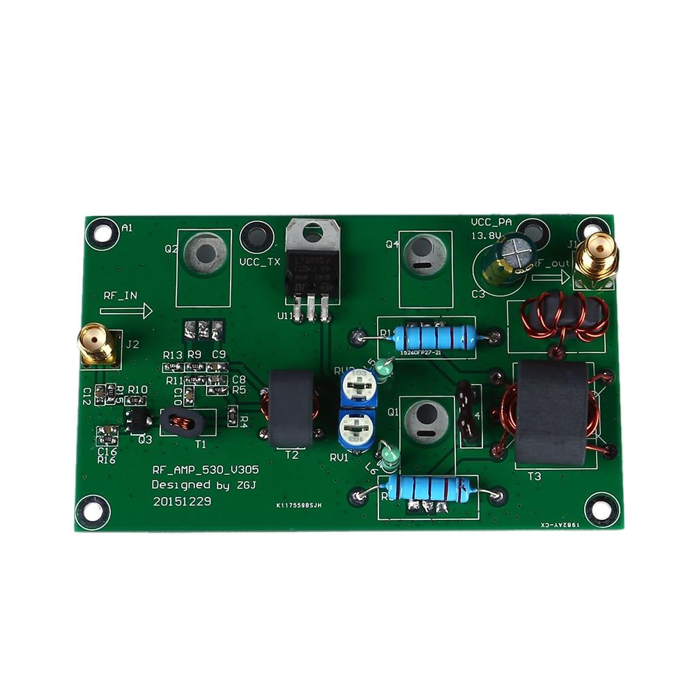 AMPLIFICADOR DE POTENCIA lineal AM 45W SSB, amplificador de potencia CW FM, transceptor de radio HF de onda corta, Kit DIY de amplificación de señal