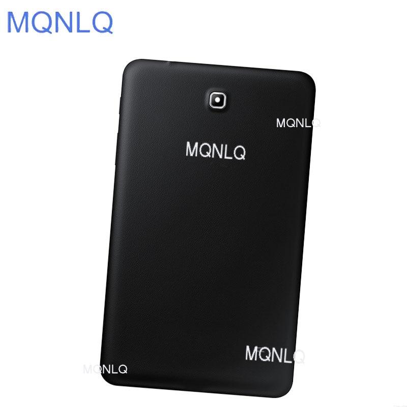 """Carcasa trasera de 10 Uds para Samsung Galaxy Tab 4 8,0 """"T330 T331 carcasa trasera para batería carcasa de repuesto de puerta MQNLQ"""