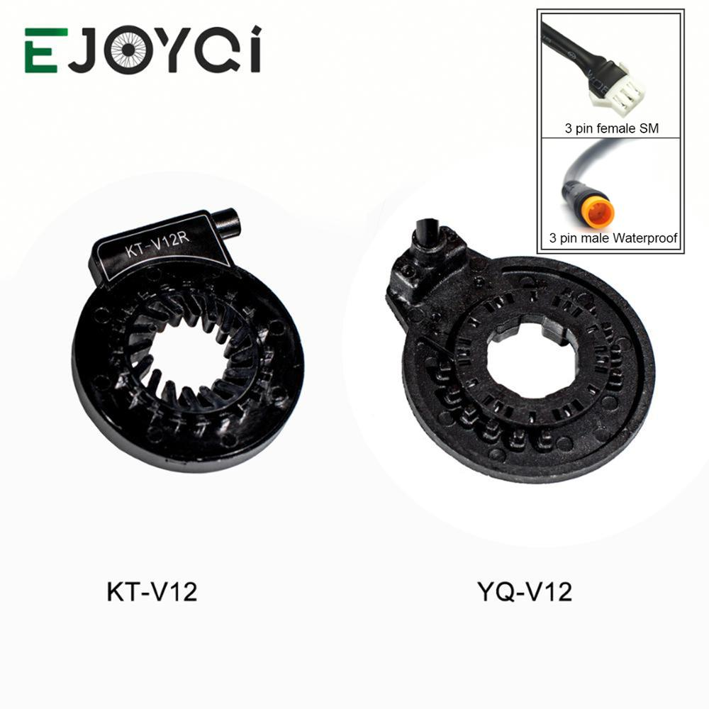 EJOYQI KT V12 Ebike PAS CD V12L 6 Magnets Left Pedal Assist Sensor Dual Hall Sensors 12 Signals Electric Bicycle PAS Sensor