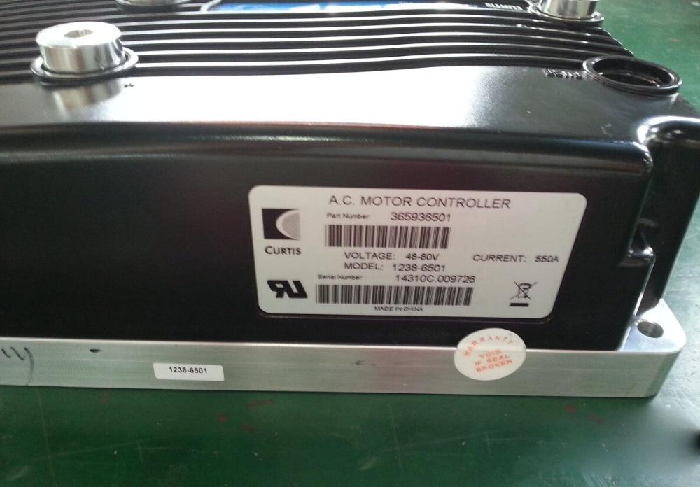 Curtis A.C. AC Motor Controller 1238-6501 48-80V 550A