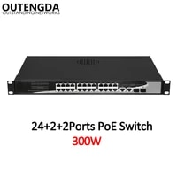 24 10100mbps poe switch standard 802 3afat switch with 2 1000mbps uplink and 2 gigabit sfp for ip camera wireless ap