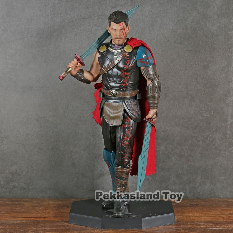 Juguetes locos Los vengadores de Marvel Thor 1/6th escala figura coleccionable en miniatura de juguete