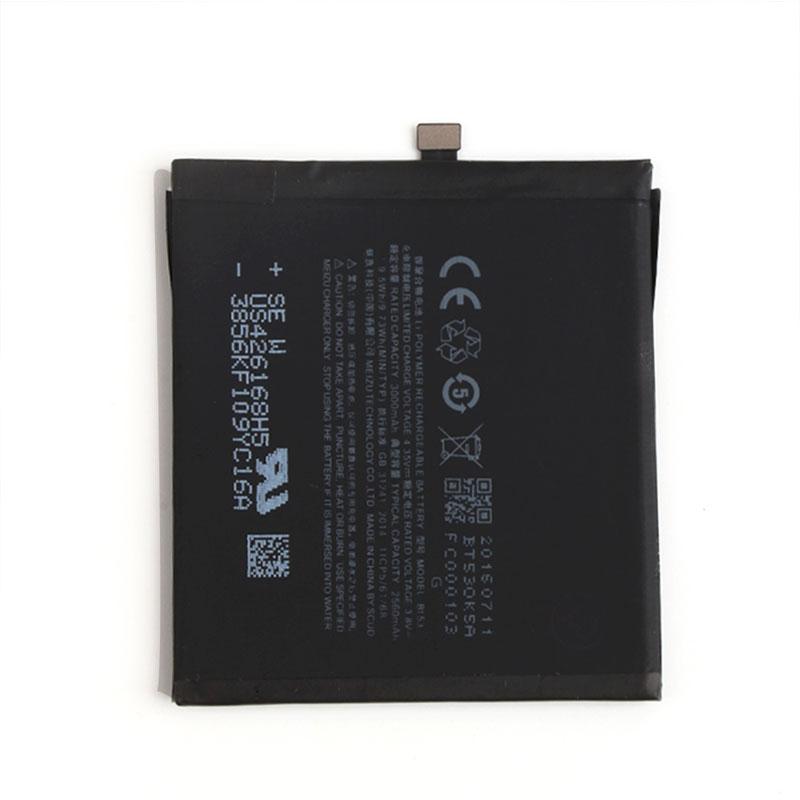 100% Original Backup For Meizu PRO 6 BT53 Battery 2560mAh Smart Mobile Phone For Meizu PRO 6 BT53 + + Tracking No недорого