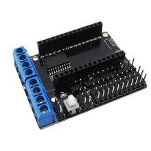 1PCS NodeMCU Motor Shield Board L293D for ESP-12E from ESP8266 esp 12E kit diy rc toy wifi rc smart car remote control