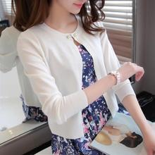 Cardigan dautomne pour femmes, pull en tricot, mince, décontracté et à manches longues, en tricot, R191, 2019