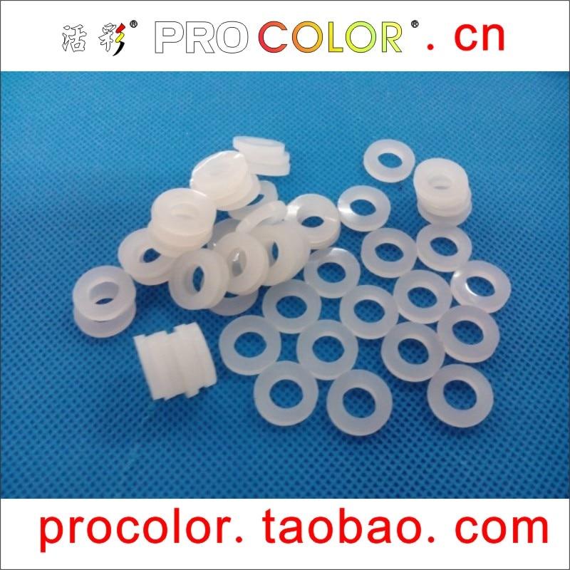 Junta tórica de goma de silicona junta de silicona blanca OD 29MM * agujero interior hueco 22mm * grueso 1,5mm