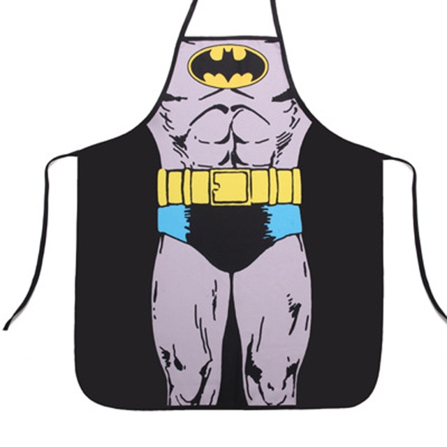 Tablier Superman Batman en forme de fille   Nouveauté, fête de couple, cadeaux amusants Sexy, livraison directe, offre spéciale