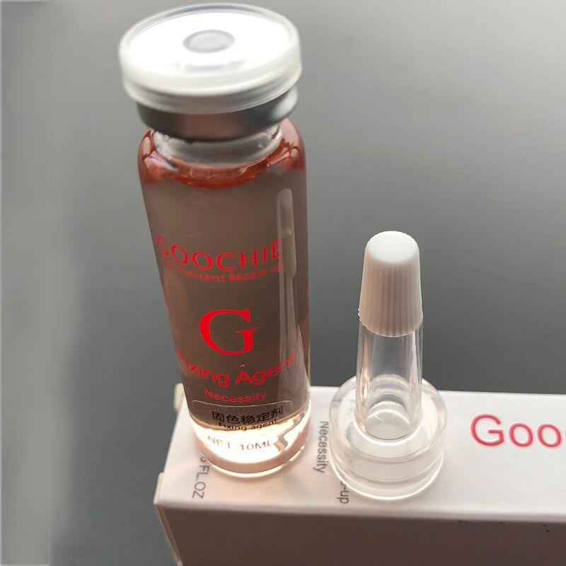 Pigmento Microblading profesional para maquillaje semipermanente, pigmento de cejas, agente de fijación de tinta PMU Tattoo Lock Essence Goochie