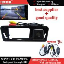 FUWAYDA sans fil SONY CCD puce spéciale voiture vue arrière arrière sauvegarde Parking sécurité DVD GPS caméra de navigation pour Subaru XV étanche