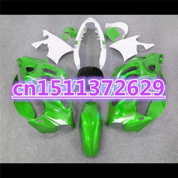قطع انسيابية GSX750F لـ GSX600F 750F Katana 1997-2005 GSX 600 F 2005 ، مطلي باللون الأخضر والفضي لسوزوكي D