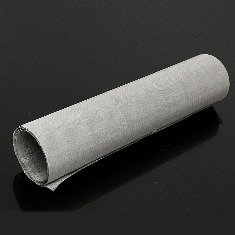 1 рулон 100 сетка из нержавеющей стали тканая проволока лист ткань экранный фильтр 30x90 см лист фильтрация проволока фильтр сетка