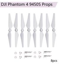 8pcs 9450S Propeller Blades for DJI Phantom 4 Pro Advanced 4A Camera 9450 Quick Release Props CW CCW Accessories