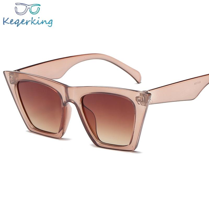 cute sexy retro cateye sunglasses women small black white triangle vintage cheap red sun glasses fem