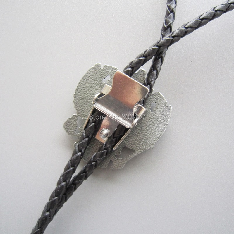 Wholesale Retail Tie Original Russian Double Headed Empire Eagle Rhinestone Bolo Tie Necklace Factory Free Shipping
