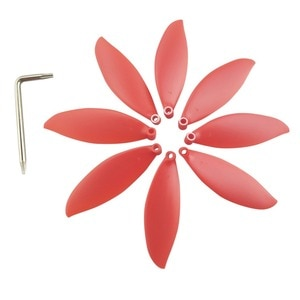 8PCS propeller for parrot anafi aerial photography Quadcopter Propeller red