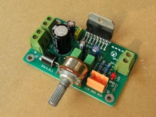 TDA7375A amplificador HiFi estéreo amp placa ensamblada