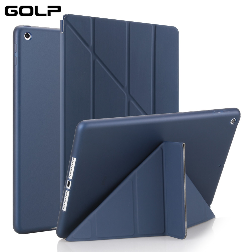 Case for iPad Air, Flip Stand case For ipad 5 6 2017 2018,PU leather Full air 2 smart cover Air 1 Cases