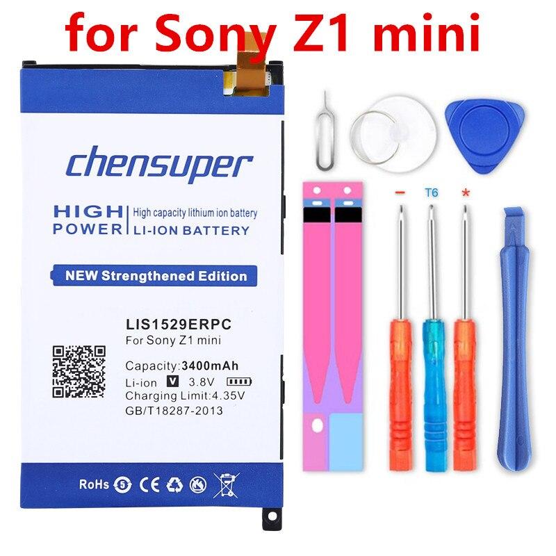 Nueva batería de Li-ion 3400mAh LIS1529ERPC para Sony Ericsson Xperia Z1 mini...