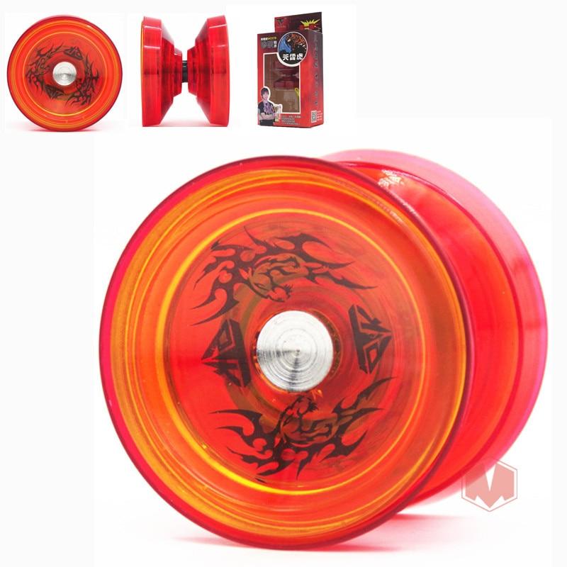 Chegada nova yoyo tpk trovão tigre yoyo v5 cnc anel de metal yoyo para profissional yo-yo jogador plast material clássico brinquedos