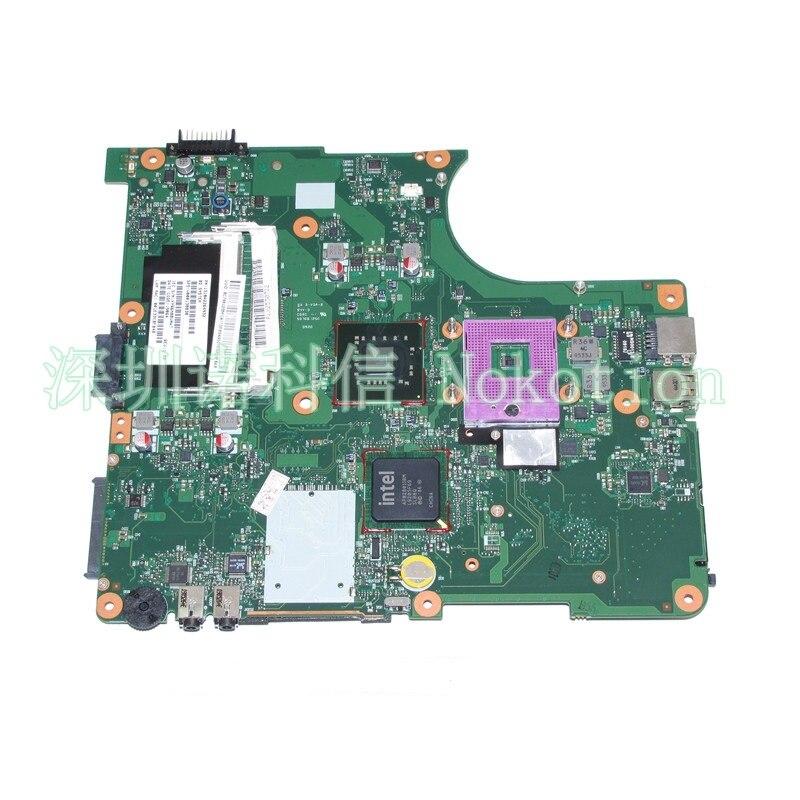 Nokotion sps v000138830 pn 1310a2264932 para toshiba satélite l300 l305 computador portátil placa-mãe 6050a2264901-mb-a03 gm45 ddr2