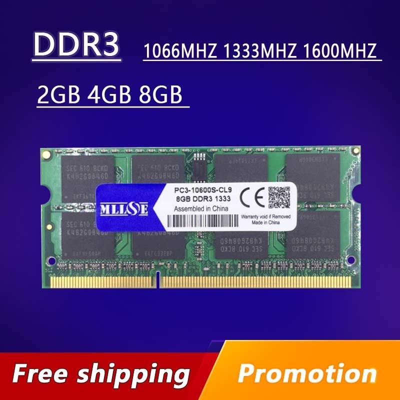 Memoria Ram para ordenador portátil sdram 2gb 4gb 8gb DDR3 1066 1333...