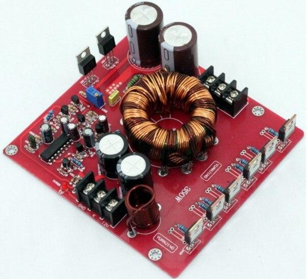 LM3886 TDA7294 TDA7293 مجلس الطاقة الناتج الجهد تعديل 30% 12VDC دفعة إلى +/-20-32VDC 350w امدادات الطاقة ل سيارة مكبر للصوت