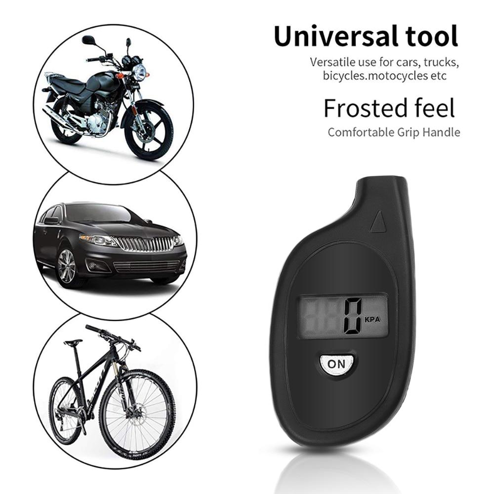 Брелок для ключей, автомобильный манометр для шин, цифровой Воздушный тестер, система контроля давления для автомобильного мотоцикла, велосипеда