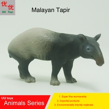Hot toys Malayan Tapir simulation model  Animals   kids  toys children educational props