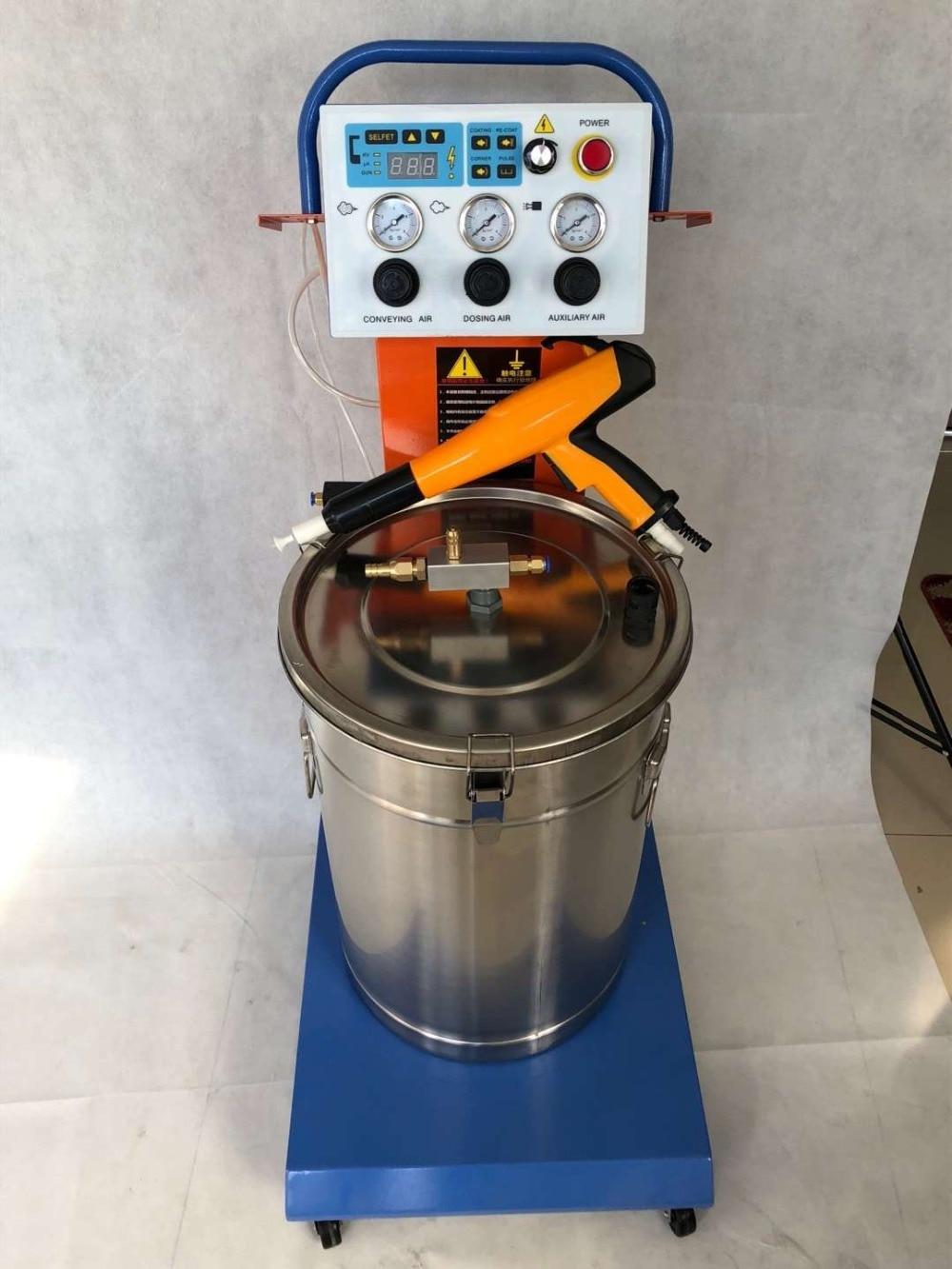 مجموعة كاملة مسحوق رذاذ كهرباء ساكنة آلة ماكينة طلاء بالمسحوق
