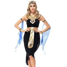 2017 New Fashion Egyptian Costume Sexy Halloween Arab Goddess Game Uniforms Latin Clothing Cosplay Party Dancing Dress