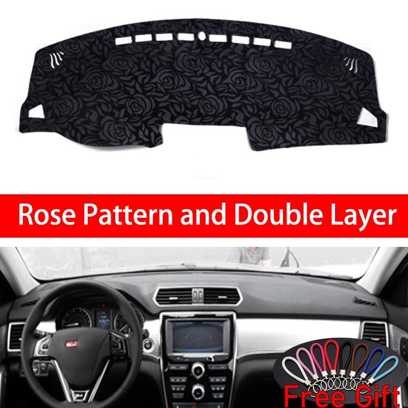 Rosa patrón para HAVAL H2 2012, 2013, 2014, 2015, 2016, 2017, 2018, pegatinas de coches Decoración Accesorios de coche Interior del coche calcomanías