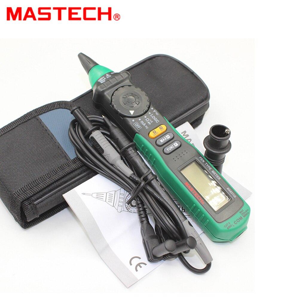 3 шт. Mastech MS8211D Ручка Тип Цифровой Авто Диапазон AC DC мультиметр