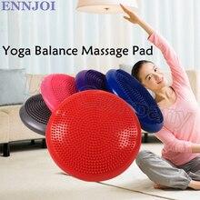 5 couleurs 33cm diamètre Yoga Balance coussin gonflable Point Massage coussin tapis Balance disque épaissir Fitness Balance conseil