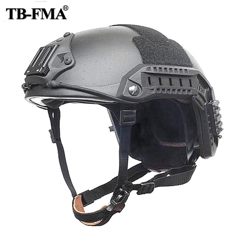 TB-FMA mejor versión de fibra de aramida marítima casco Airsoft cascos de combate táctico para motocicleta entrenamiento militar envío gratis