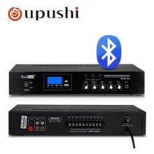 80w بلوتوث مضخم الصوت 3 منطقة pa ستيريو أمبير oupushi 100V الرقمية مكبر كهربائي مجلس مع USB MP3 المتحدثون