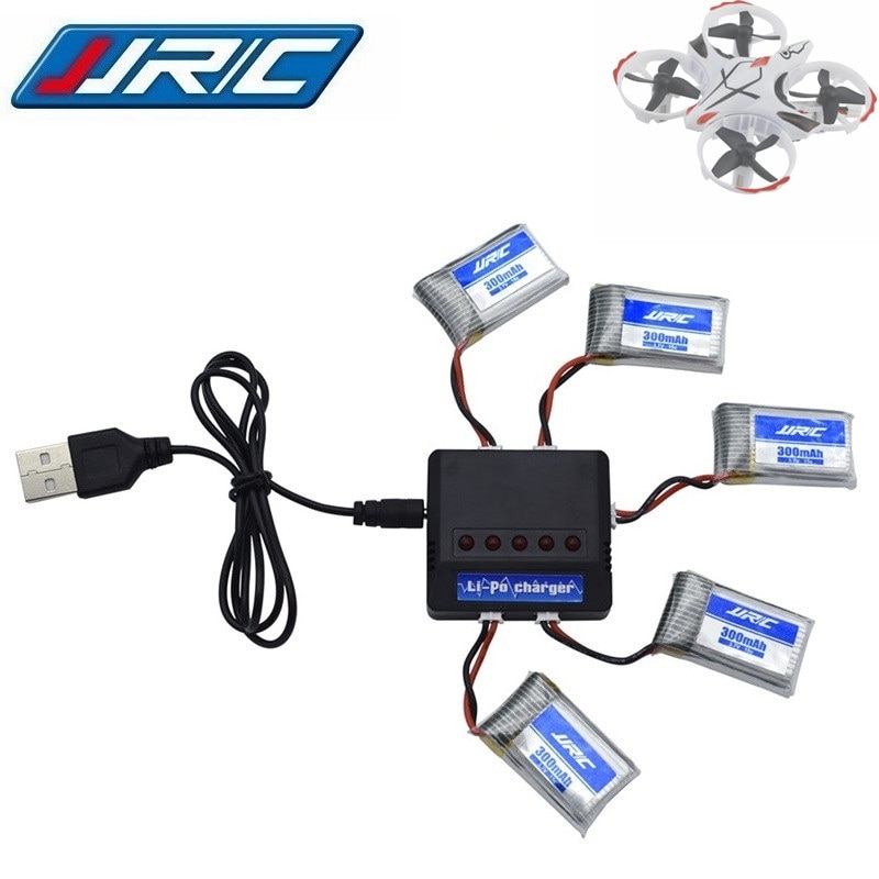 Original JJRC H56 battery 3.7V 300mAh For JJRC H56 T2G Drone Battery for RC Quadcopter Spare Part Lipo Battery and Charger 5in1