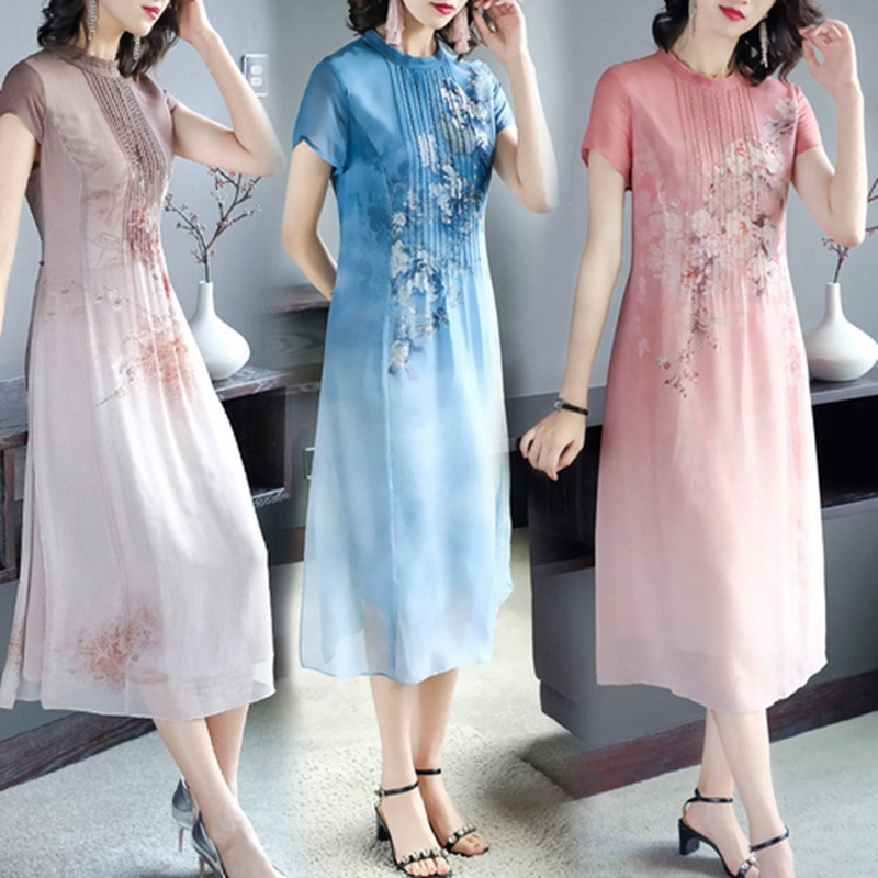 high-quality-womens-clothing-chiffon-dress-summer-dress-new-product-long-fashion-chinese-style-slim-temperament-noble