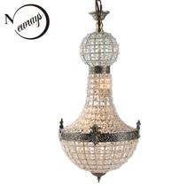 Lustres en cristal Europe moderne, cristal Empire Royal Vintage en verre Lustres lumières de salon G9 pour la cuisine de la chambre