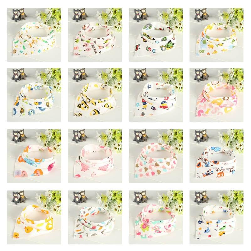 ¡Producto en oferta! Set de 6 unidades de Baberos de algodón para bebé de doble capa, paño impermeable, bufanda para niños y niñas, babero de eructo 88